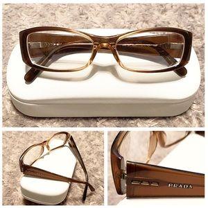 Prada Eyeglasses paid $280 Size 51mm crystals